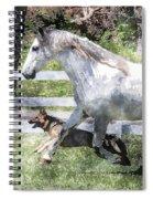 Jogging Buddies Spiral Notebook