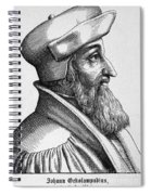 Johannes Oecolampadius Spiral Notebook