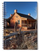 John And Ellen Wood Home Spiral Notebook