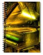 John Broadwood And Sons Grand Piano Spiral Notebook