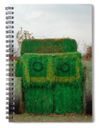 John Deer Made Of Hay Spiral Notebook