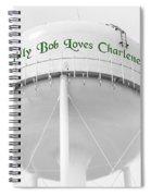 John Deere Green Spiral Notebook