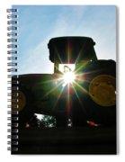 John Deere In The Morning Sun Spiral Notebook