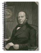 John Ericsson, Swedish-american Inventor Spiral Notebook