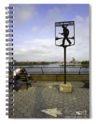 John Finley Walk 1v Spiral Notebook