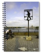 John Finley Walk V Spiral Notebook