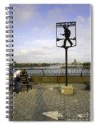 John Finley Walk V Spiral Notebook