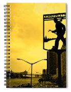 John Finley Walk V1 Spiral Notebook