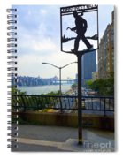 John Finley Walk V11 Spiral Notebook