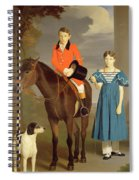 John Gubbins Newton And His Sister Mary Spiral Notebook
