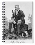 John James Audubon, French-american Spiral Notebook