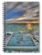 John Maynard Plaque Spiral Notebook