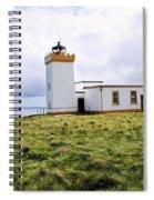 John O Groats Lighthouse Spiral Notebook