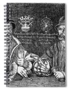 John Of Leiden (1509-1536) Spiral Notebook