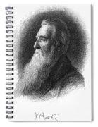 John Ruskin Spiral Notebook