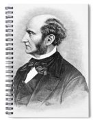 John Stuart Mill Spiral Notebook