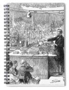 John Tyndall (1820-1893) Spiral Notebook