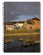 Johns Quay & River Nore, Kilkenny City Spiral Notebook