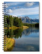 Johnson Lake Spiral Notebook