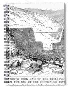 Johnstown Flood: Dam, 1889 Spiral Notebook