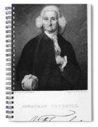 Jonathan Trumbull Spiral Notebook