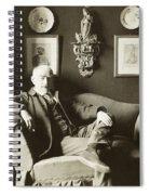 Joris Karl Huysmans Spiral Notebook