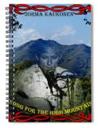 Jorma- Song For The High Mountain Spiral Notebook