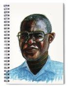 Joseph Bessala Spiral Notebook