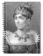 Josephine De Beauharnais Spiral Notebook