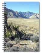 Joshua Tree And Mount Wilson Spiral Notebook