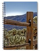 Joshua Tree Cholla Garden Spiral Notebook
