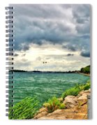 Journey Back From The Bridge Spiral Notebook