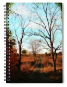 Journey To The Past Spiral Notebook