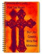 Joy Comes Spiral Notebook