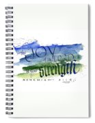 Joy Strength I Spiral Notebook