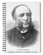 Jules Ferry (1832-1893) Spiral Notebook