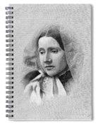 Julia Ward Howe (1819-1910) Spiral Notebook