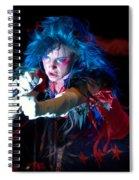 Juliette Lewis Spiral Notebook