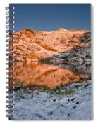 June Snowfall At Angel Lake Spiral Notebook