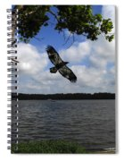 Junenile Eagle Rocky Fork Lake Spiral Notebook