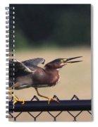 Just A Bluff Spiral Notebook