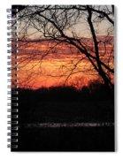 Just A Little Bit Higher -- Sunrise Spiral Notebook