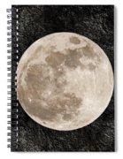 Just A Little Ole Super Moon Spiral Notebook