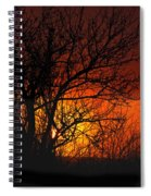 Just A Pretty Sunrise Spiral Notebook