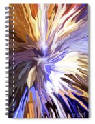 Just Abstract Iv Spiral Notebook