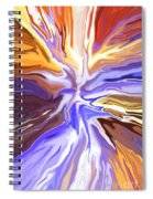Just Abstract V Spiral Notebook