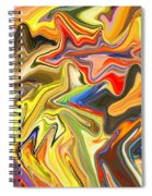 Just Abstract Viii Spiral Notebook