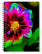 Just Another Regular Flower In The Garden Spiral Notebook