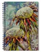Just Dandelion Spiral Notebook