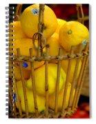 Just Lemons Spiral Notebook
